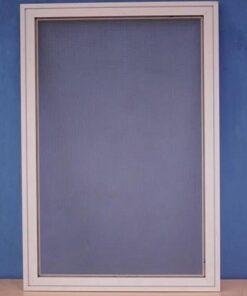Cửa lưới chống muỗi cố định màu trắng sứ HM029