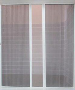 Cửa lưới chống côn trùng cố định màu trắng sứ HM030
