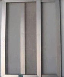 Cửa lưới chống muỗi dạng lùa màu ghi HM026